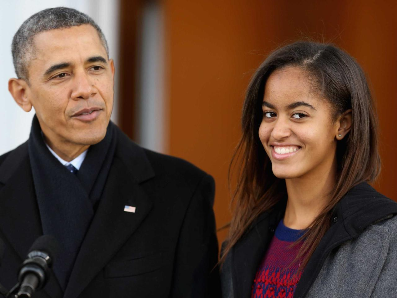 Старшая дочь президента США будет поступать в Гарвард