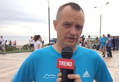 """Участник из США: """"Бакинский марафон"""" - отличная возможность для любителей бега"""