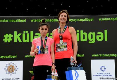 Обладательница третьего места: «Бакинский марафон» организован на высоком уровне