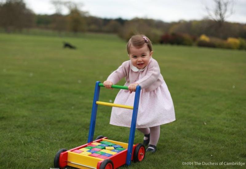 """Британский королевский дом опубликовал новые фото принцессы Шарлотты <span class=""""color_red"""">- ФОТО</span>"""