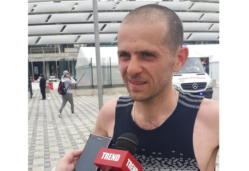 """Второй призер Георгий Домения: """"Бакинский марафон"""" отлично организован"""