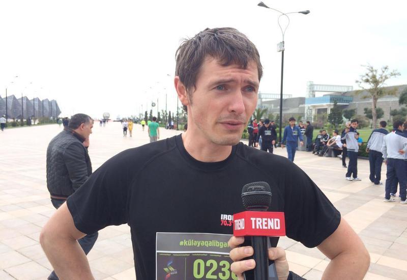 """Участник забега: """"Бакинский марафон"""" придаст импульс развитию этого вида спорта в Азербайджане"""