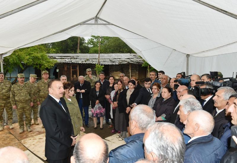 Президент Ильхам Алиев: Азербайджанская армия дала достойный отпор армянской провокации