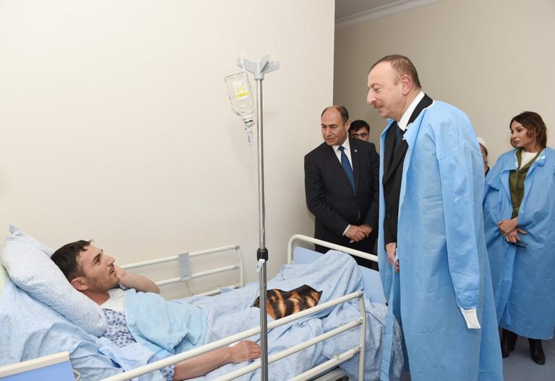 """Президент Ильхам Алиев: Армяне воюют с гражданским населением <span class=""""color_red"""">- ФОТО</span>"""