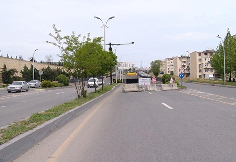 """В Баку ограничат движение на этом проспекте <span class=""""color_red"""">- ФОТО</span>"""