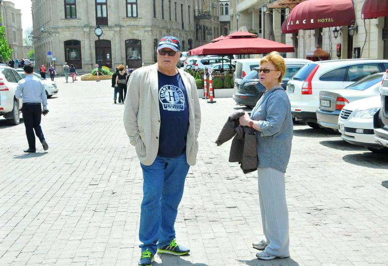 """Ирина Жорж в Баку: """"Я поражена до глубины души"""""""