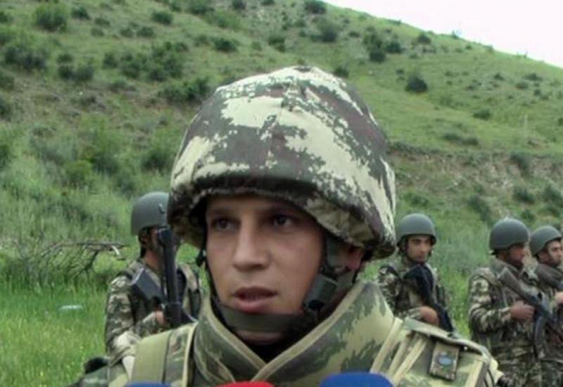 Капитан азербайджанской армии: Армяне убежали, увидев нашу мощь