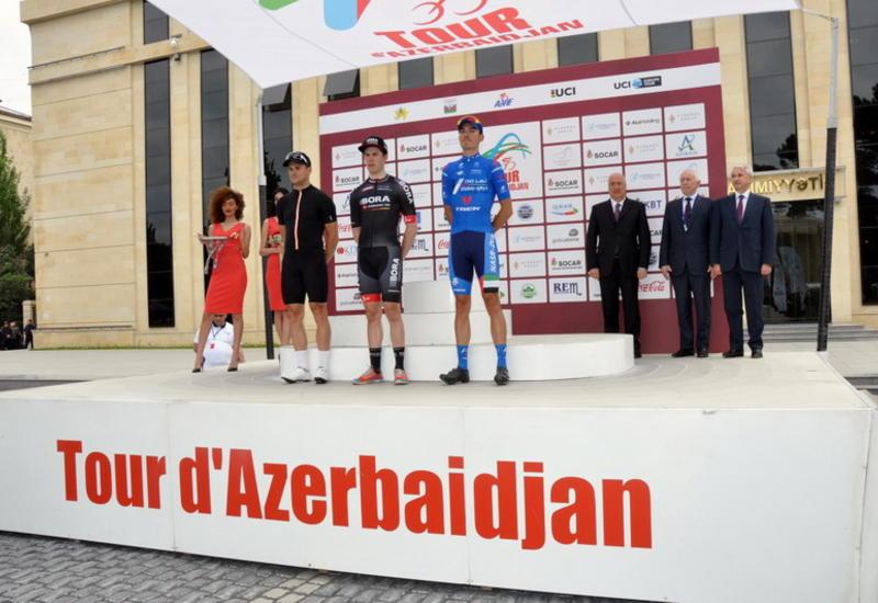 """Определились победители первого этапа Tour d`Azerbaidjan-2016 <span class=""""color_red""""> - ОБНОВЛЕНО - ФОТО</span>"""