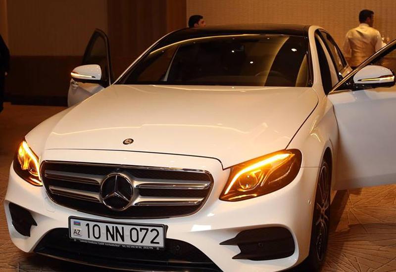 """Премьера Mercedes-Benz E-Класс и GLS в Баку <span class=""""color_red"""">- ФОТО</span>"""
