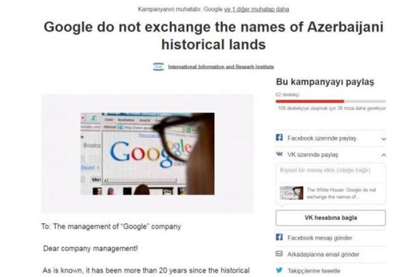 """""""Google""""dan Azərbaycana qarşı <span class=""""color_red"""">TƏXRİBAT</span>"""