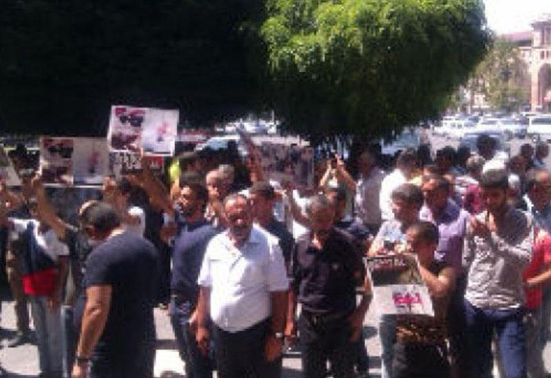 Ermənistanda yezidlər üsyan edir