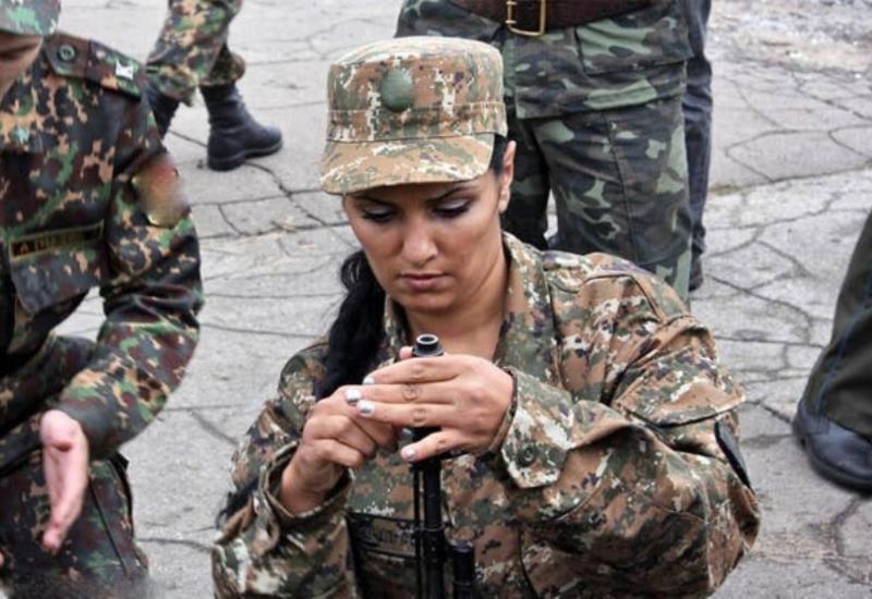 Армения отправляет на фронт женщин