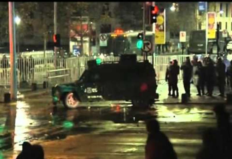 """В Чили демонстрацию школьников разогнали слезоточивым газом <span class=""""color_red"""">- ВИДЕО</span>"""