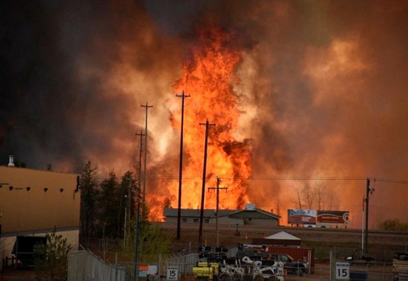 """Пожары пожирают леса в Канаде <span class=""""color_red"""">- ВИДЕО</span>"""
