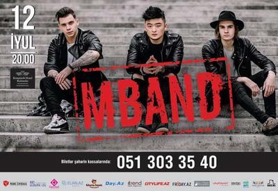Группа M-BAND впервые выступит в Баку