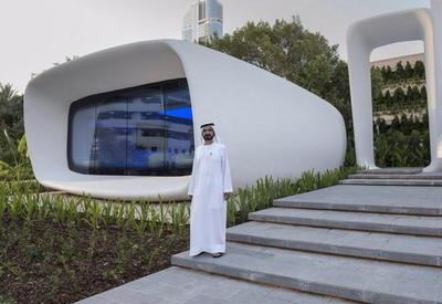 """В ОАЭ на 3D-принтере напечатали первое в мире офисное здание <span class=""""color_red"""">- ФОТО</span>"""