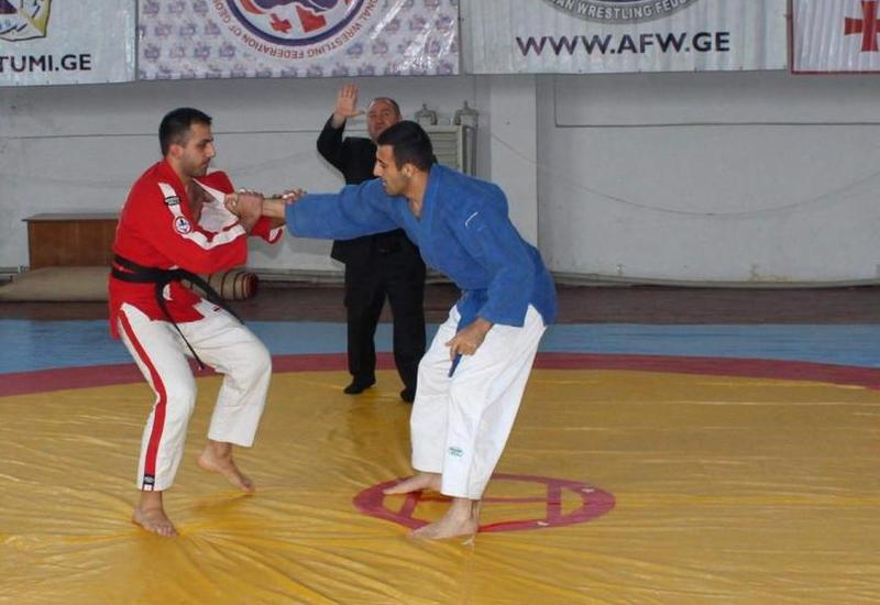 "Həmyerlimiz Gürcüstanda birinci oldu <span class=""color_red"">- FOTO</span>"
