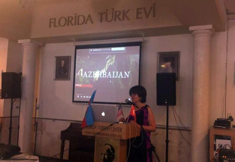"В США состоялись презентация азербайджанского келагаи и книги ""Приветствия Гейдар-бабе"" <span class=""color_red"">- ФОТО</span>"