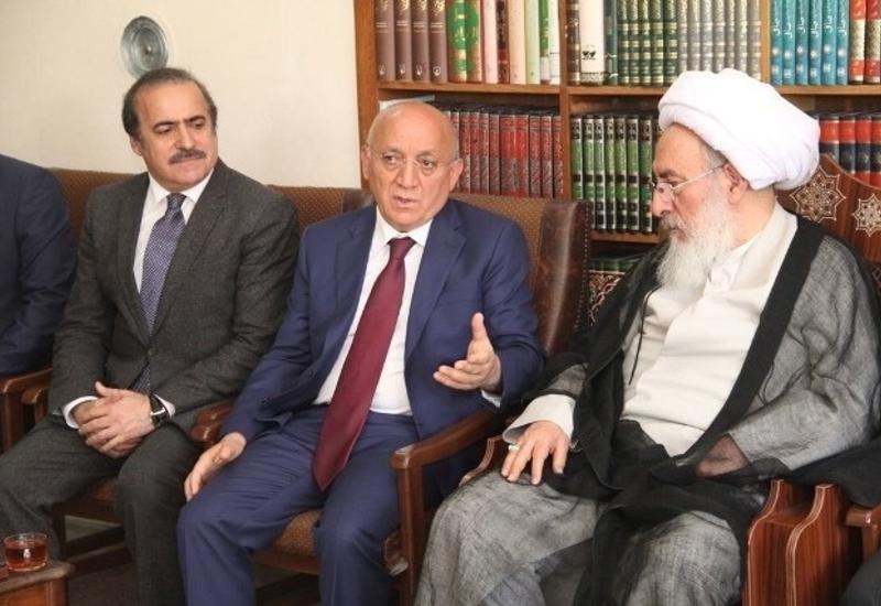 """Иранский аятолла: Оккупированные земли должны быть возвращены Азербайджану <span class=""""color_red"""">- ФОТО</span>"""