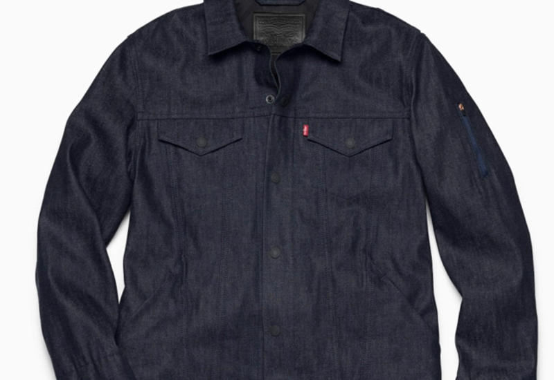 "Levi's и Google создали ""умную"" джинсовую куртку <span class=""color_red"">- ВИДЕО</span>"