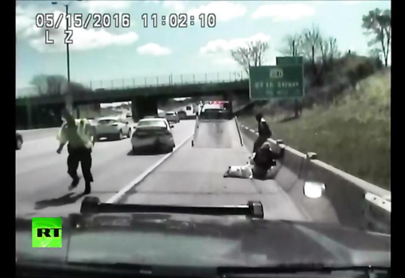 """Американка протаранила на машине полицейских, чтобы избежать штрафа <span class=""""color_red"""">- ВИДЕО</span>"""