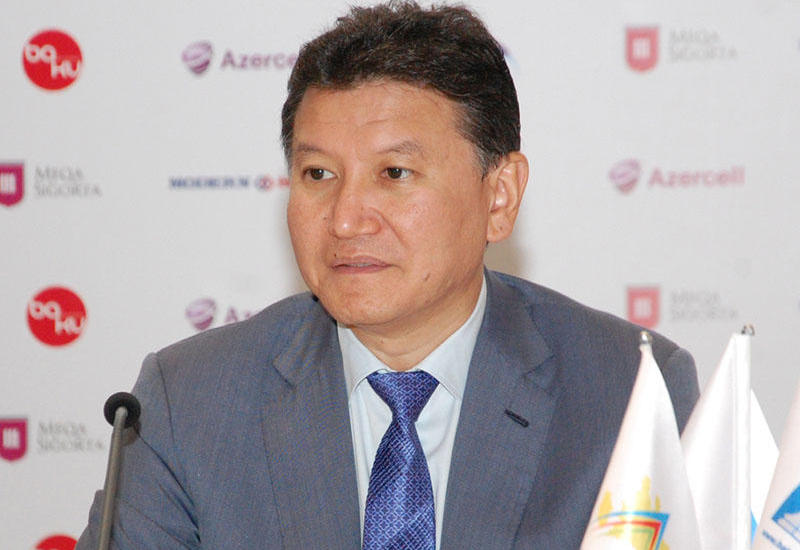 Кирсан Илюмжинов о великолепной организации Шахматной Олимпиады в Баку