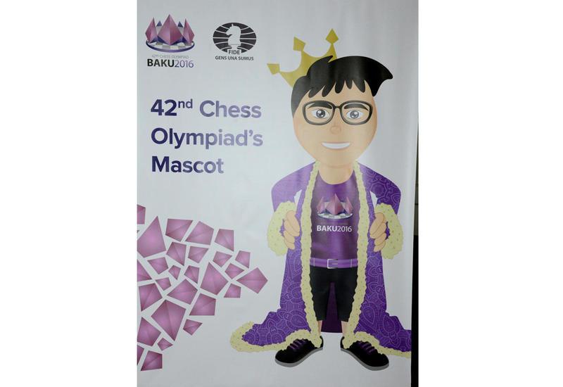 Презентован маскот 42-й Всемирной шахматной олимпиады в Баку