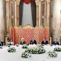 """Президент Ильхам Алиев и его супруга Мехрибан Алиева приняли участие во Всемирном гуманитарном саммите в Стамбуле <span class=""""color_red"""">- ОБНОВЛЕНО - ФОТО</span>"""