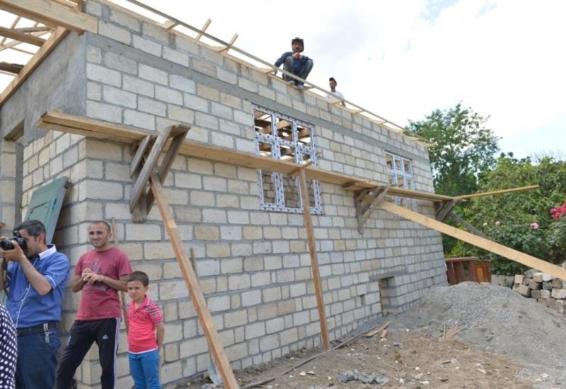 Восстановлены более 30 домов, поврежденных при обстреле армян