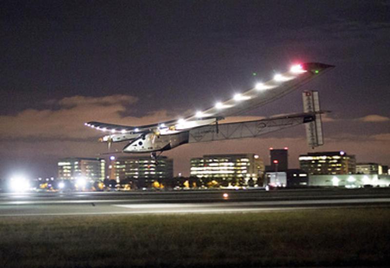 """Солнечный» самолёт успешно приземлился в Пенсильвании <span class=""""color_red"""">- ВИДЕО</span>"""