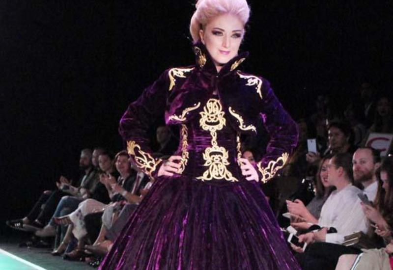 "Гюльнара Халилова стала главной моделью дефиле Khafiz Khan на Azerbaijan Fashion Week <span class=""color_red"">- ФОТО</span>"