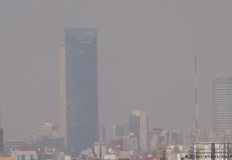 В Мехико вновь объявили экологическую тревогу