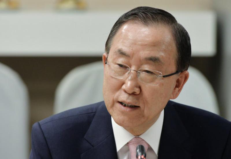 Пан Ги Мун: Вклад правительства Азербайджана в достижение общих целей очень важен