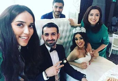 """Азербайджанская певица вышла замуж за танцора <span class=""""color_red"""">- ФОТО</span>"""