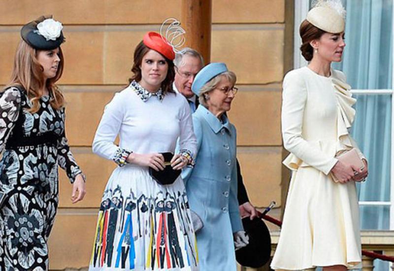 СМИ: принцессы Йоркские позавидовали платью Кейт