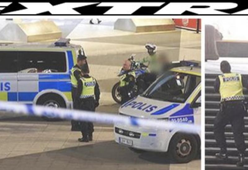 Полиция Стокгольма нейтрализовала мужчину с ножом после нападения
