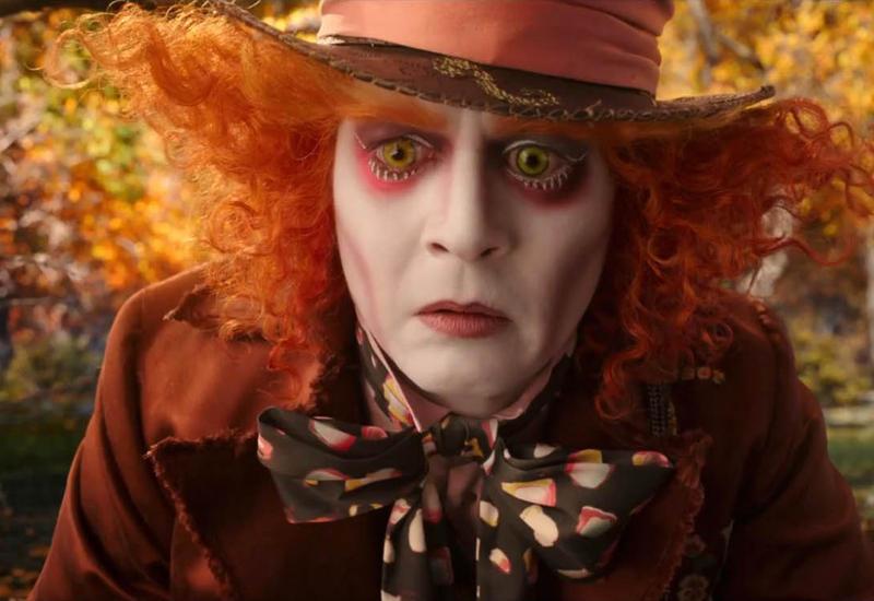 Развод Джонни Деппа привел к провалу фильма «Алиса в Зазеркалье»