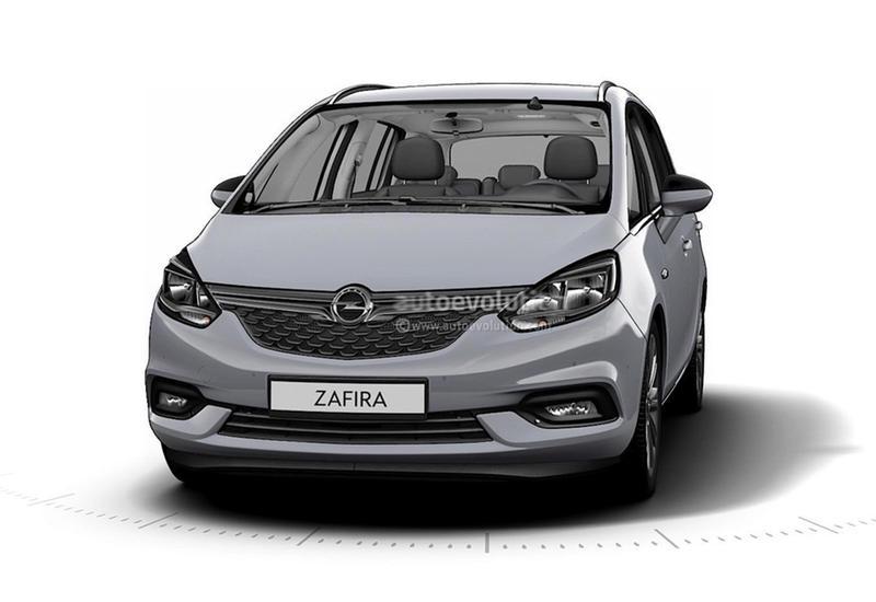 "GM по ошибке рассекретил внешность обновленного Opel Zafira <span class=""color_red"">- ФОТО</span>"