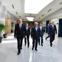 """Президент Ильхам Алиев принял участие в открытии нового административного здания SOCAR <span class=""""color_red"""">- ФОТО</span>"""