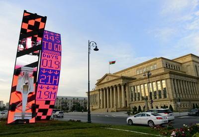 """В Баку начался обратный отсчет до старта """"Формулы-1"""" <span class=""""color_red"""">- ФОТО</span>"""