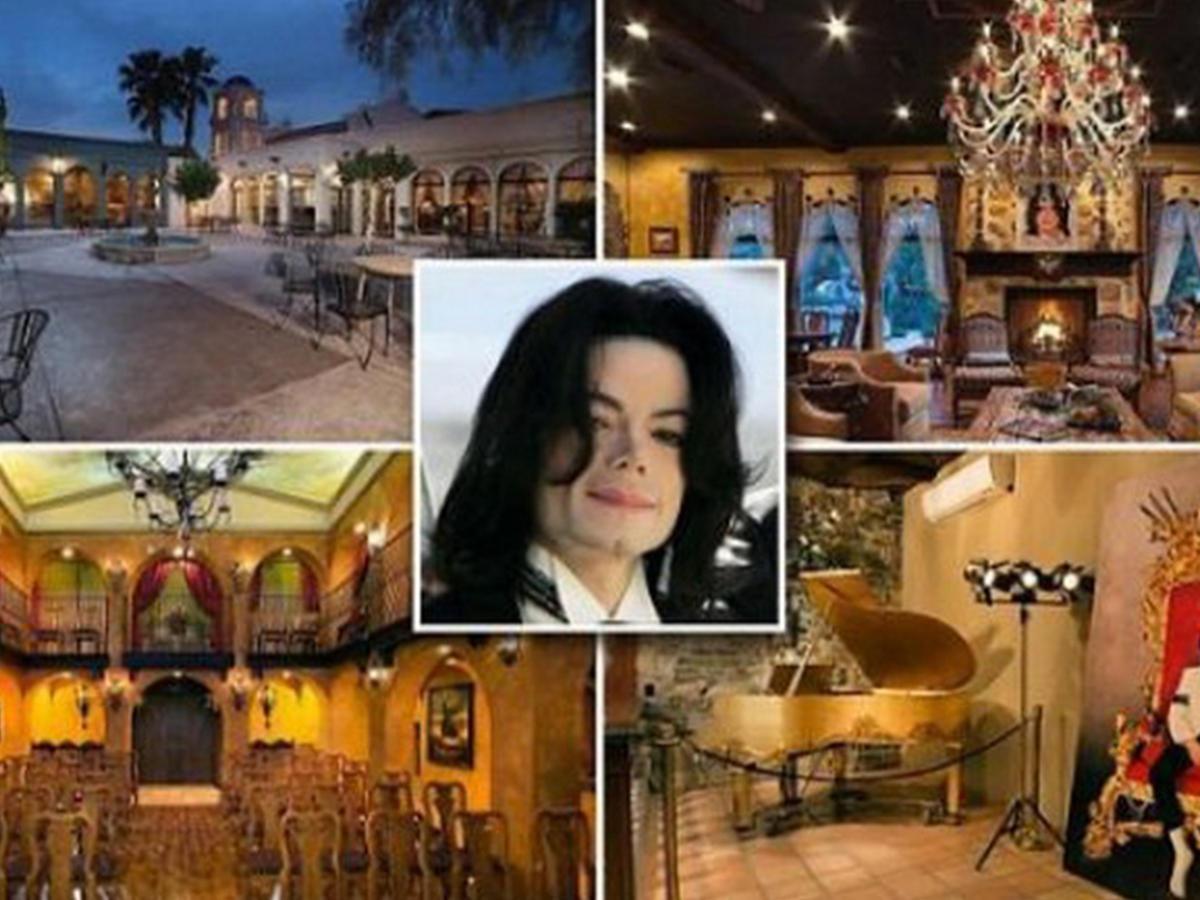 Виллу Майкла Джексона вВегасе вновь выставили на реализацию