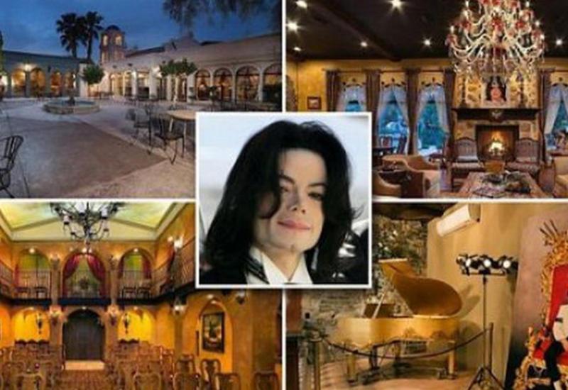 """В Лас-Вегасе продается особняк Майкла Джексона <span class=""""color_red"""">- ФОТО</span>"""