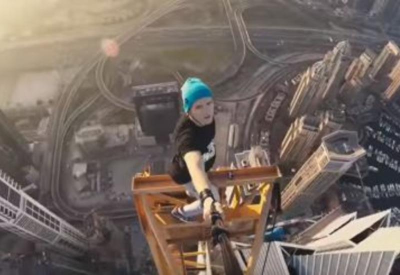 """Украинский руфер Мустанг покорил рекордную высоту <span class=""""color_red"""">- ВИДЕО</span>"""