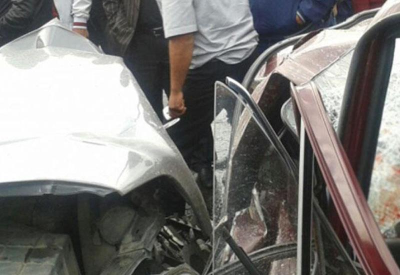 Sumqayıtda yol polisi ağır qəza törətdi: özü və iki qadın öldü