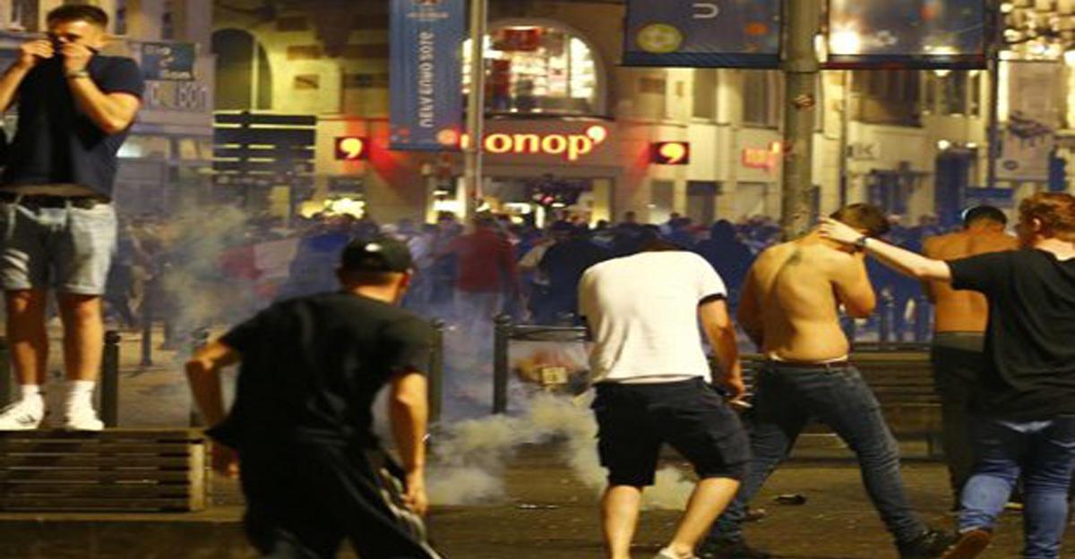Беспорядки вЛилле: задержаны 12 россиян, а английских болельщиков разгоняли слезоточивым газом