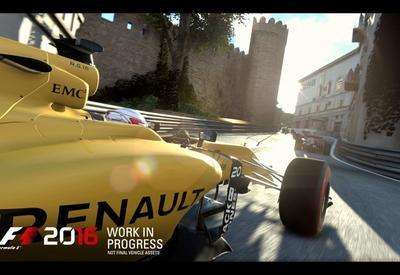"""Бакинская трасса Формулы-1 войдет в новую компьютерную игру <span class=""""color_red"""">- ФОТО</span>"""