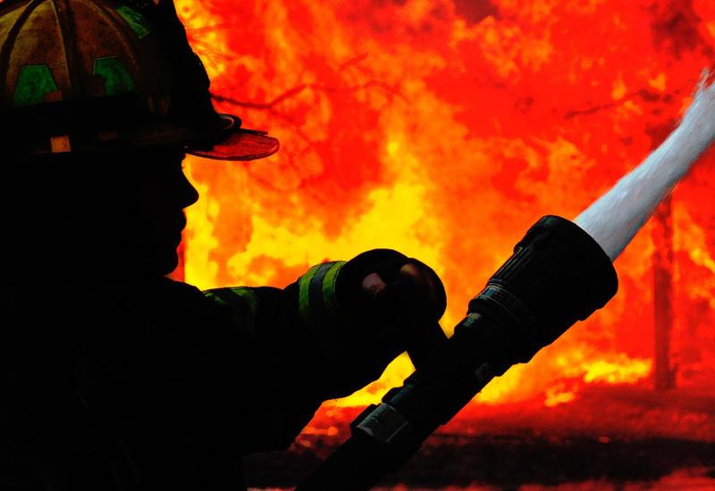 В Масаллы сгорел ресторан