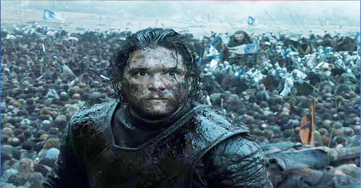 Вглобальной паутине появился фильм осъемках «Битвы бастардов» из«Игры престолов»