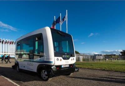 """В Швейцарии тестируют самоуправляемые электробусы <span class=""""color_red"""">- ВИДЕО</span>"""