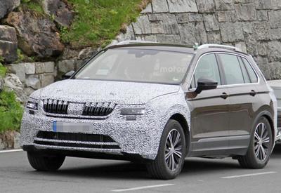 "Volkswagen Tiguan может превратиться в Skoda Yeti <span class=""color_red"">- ФОТО</span>"